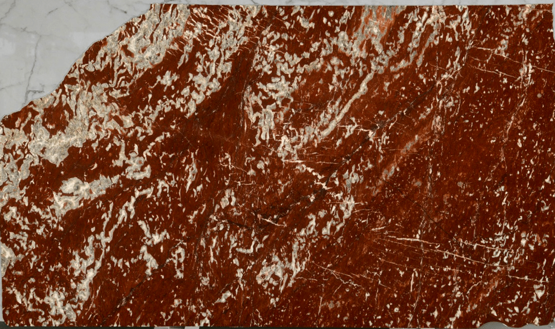 Red france b marble